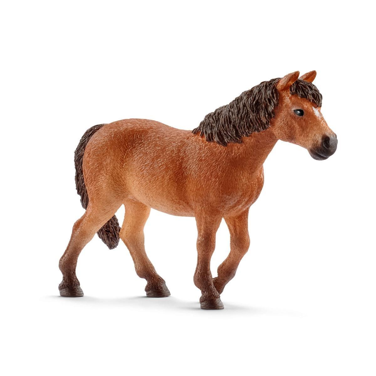 Schleich 13873 Dartmoor-Pony Stute Zabawki Zwierzęta i dinozaury