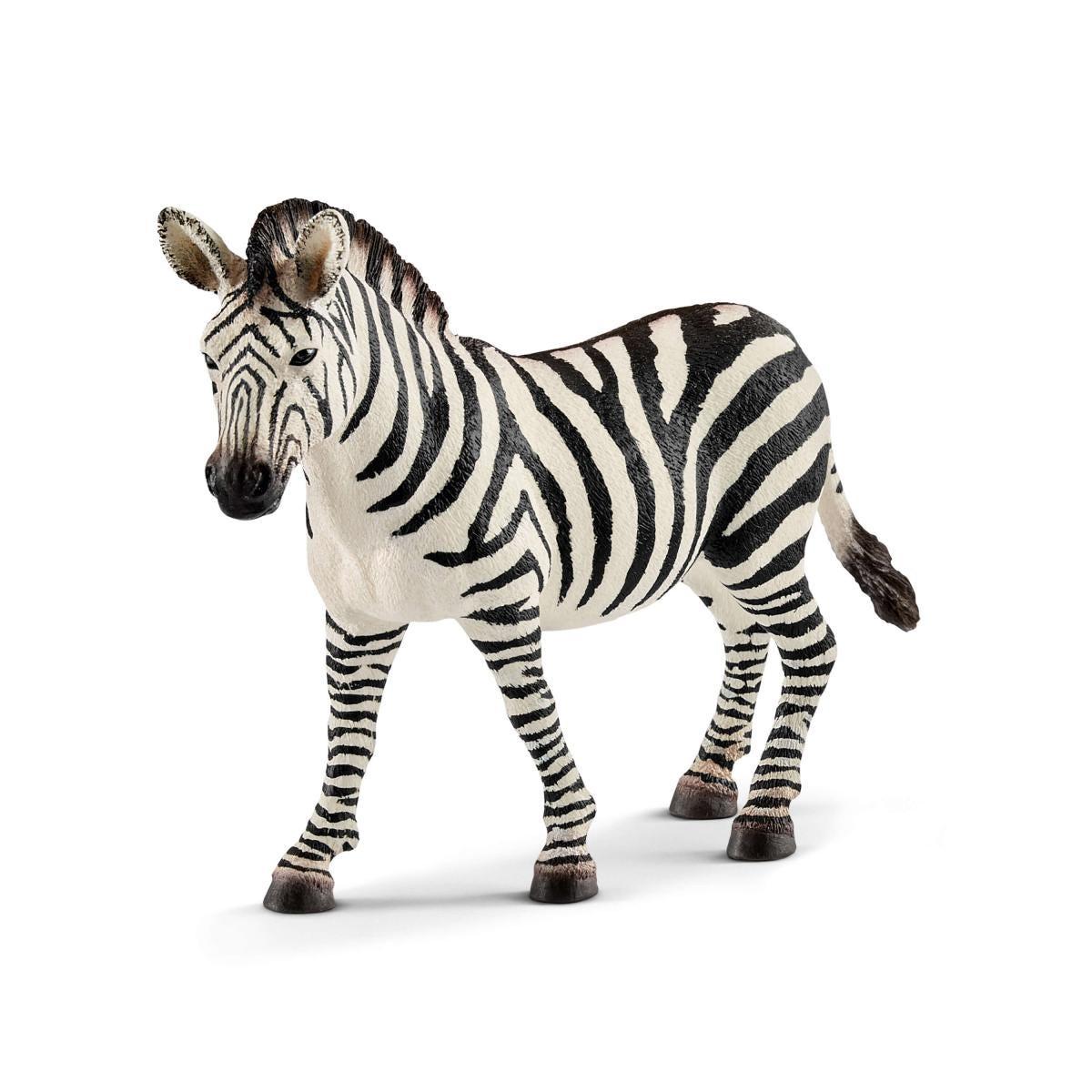 zebra female 14810 wild life schleich