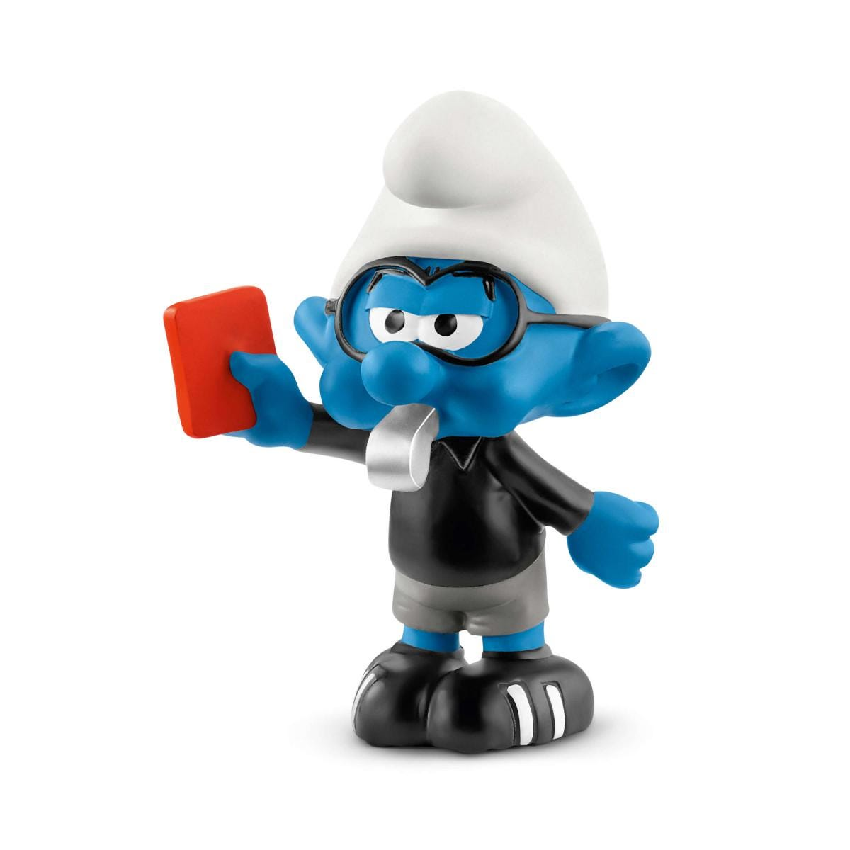 Schleich *NEW* 2018 - 20809 Smurfs Referee Football Smurf