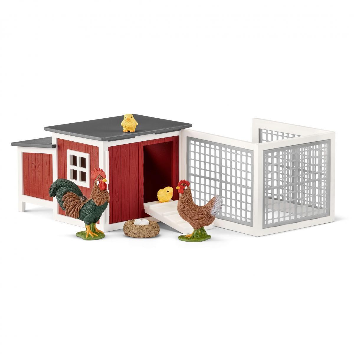 Schleich Free Shipping! Chicken Coop