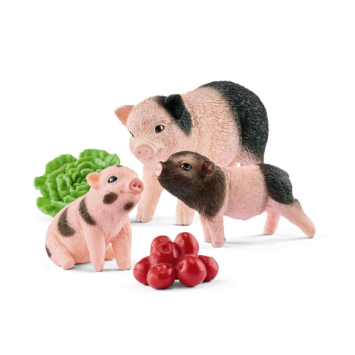 Schleich 42422 Farm World Mini-Schwein Mutter und Ferkel