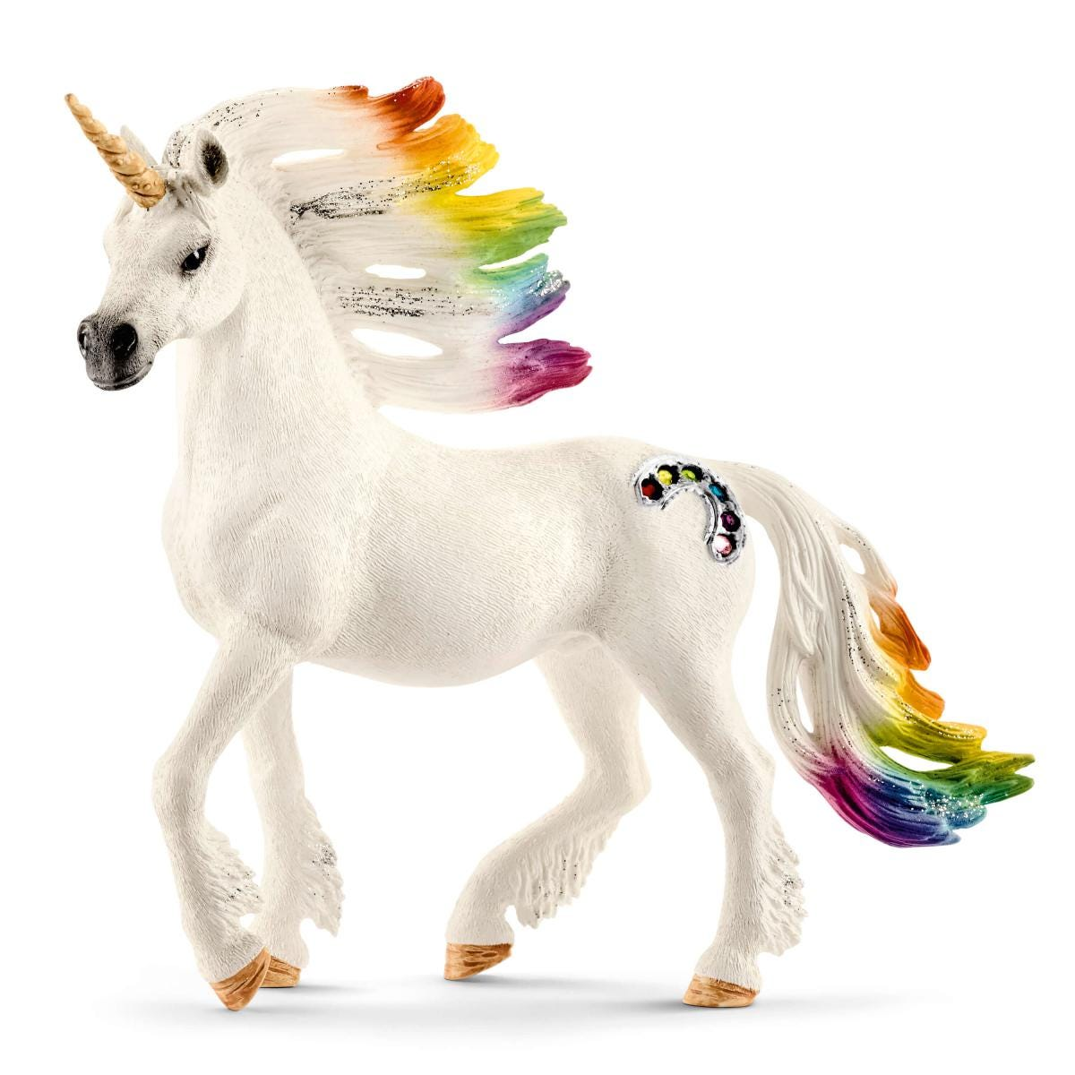 """3/"""" Mythical Unicorn Animals Assorted Colors 24 Pack"""
