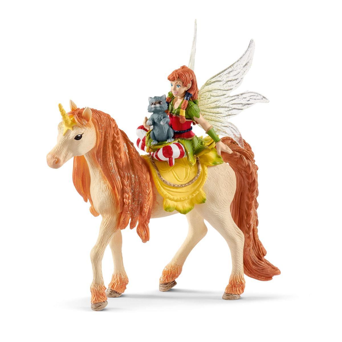 SCHLEICH 70567 MARWEEN con glitter-Unicorno