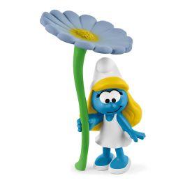 Smurfette with flower