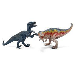 T-Rex and Velociraptor, small