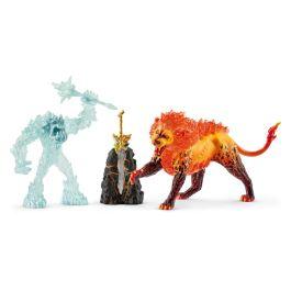 Lucha por la superarma – Monstruo del hielo contra León de fuego