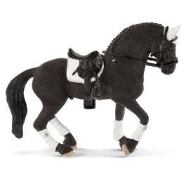 Hřebec fríského koně, jezdecký turnaj