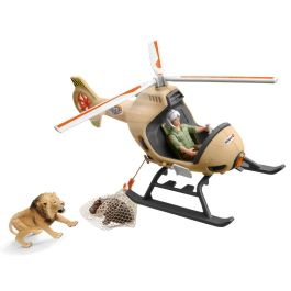 Helicóptero de salvamento de animales
