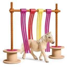 Rideau pour poney