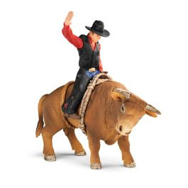 Cowboy with bull