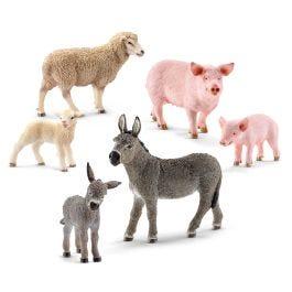 6-Piece Farm Animal Bundle
