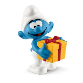 Smurf met cadeau