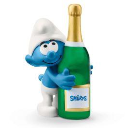 Smurf met fles