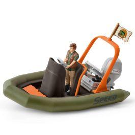 Schlauchboot mit Ranger