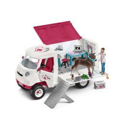 Mobile Tierärztin mit Hannoveraner Fohlen