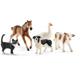 Assortiment d'animaux Farm World