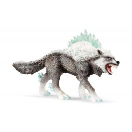 Lobo de nieve