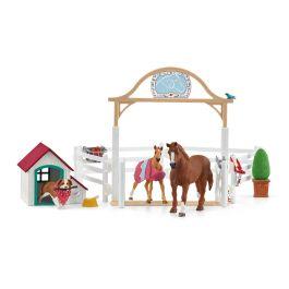 Horse Club Hannahs Gastpferde mit Hündin Ruby
