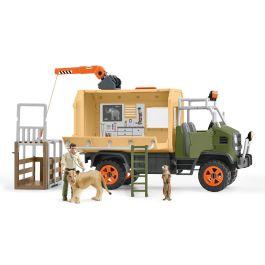 动物救援大卡车