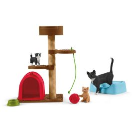 Spielspaß für niedliche Katzen