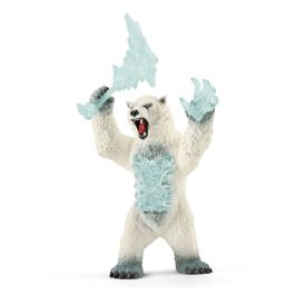 Snøstormbjørn med våpen