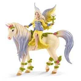 Fairy Sera with blossom unicorn