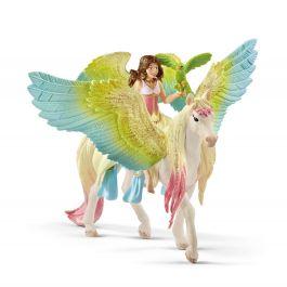 Surah mit Glitzer-Pegasus