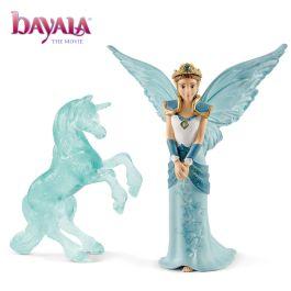 MOVIE Eyela met eenhoorn ijssculptuur
