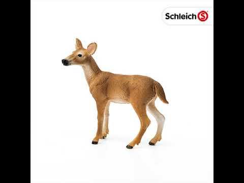 Schleich-14818 Weisswedelhirsch NOUVEAU OVP