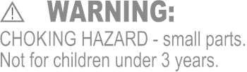 Choking Hazard Warning
